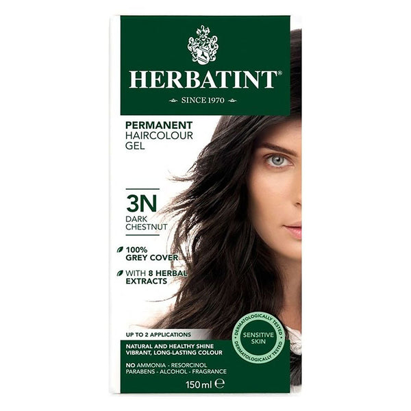 Herbatint 3N Dark Chestnut Hair Color 150ml