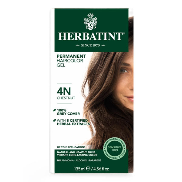 Herbatint 4N Chestnut Hair Color 135ml
