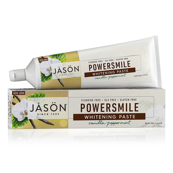JASON Vanilla Peppermint Powersmile Toothpaste 170g