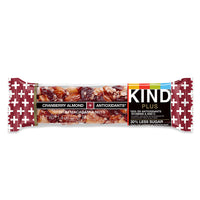 Kind Cranberry Almond with Macadamias Plus Bar 40g