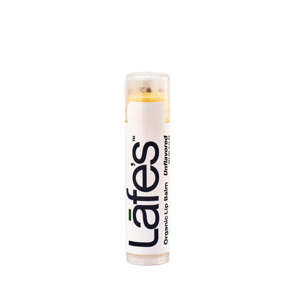 Lafe's Unflavored Organic Lip Balm 4.25g