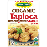 Let's Do Organic Tapioca Starch Flour 170g