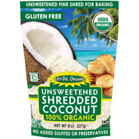 Let's Do Organic Unsweetened Shredded Coconut 227g