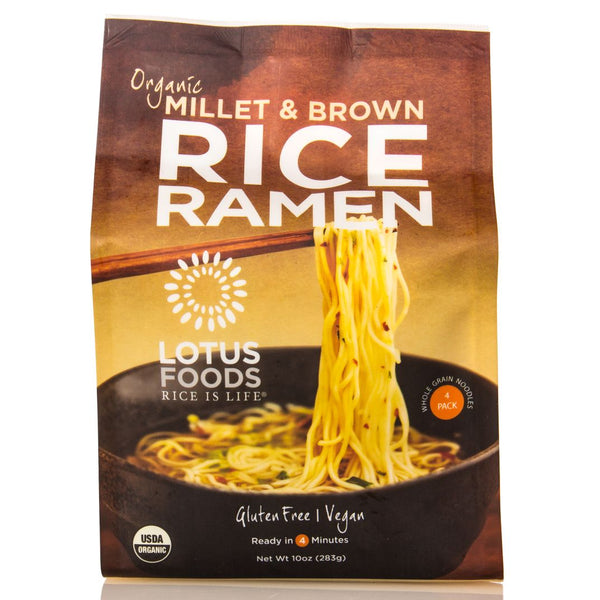 Lotus Foods Millet & Brown Ramen 283g