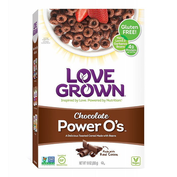 Love Grown Chocolate Power Os Cereal 283g