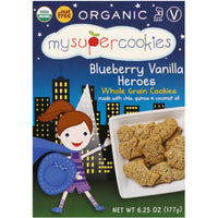 My Super Foods Organic Blueberry Vanilla Cookies 177g