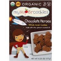 My Super Foods Organic Chocolate Cookies 177g