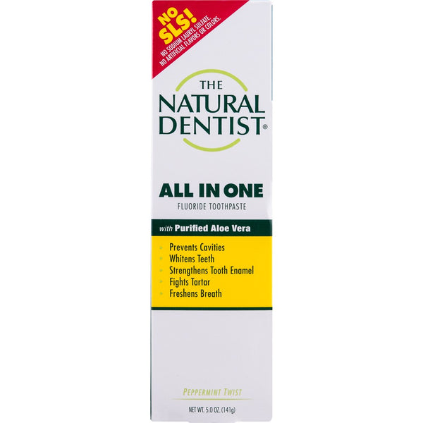 Natural Dentist All in One Peppermint Toothpaste 141g