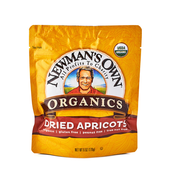 Newman's Own Organics Dried Apricots 170g