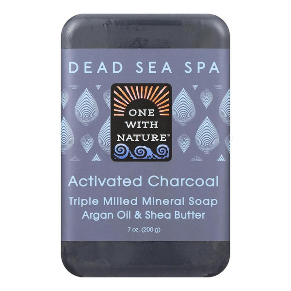 One with Nature Activated Charcoal Bar Soap 200g