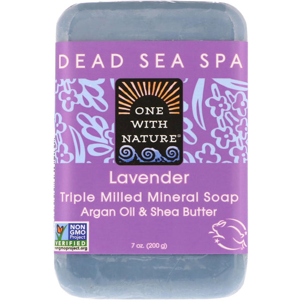 One with Nature Lavender Bar Soap 200g