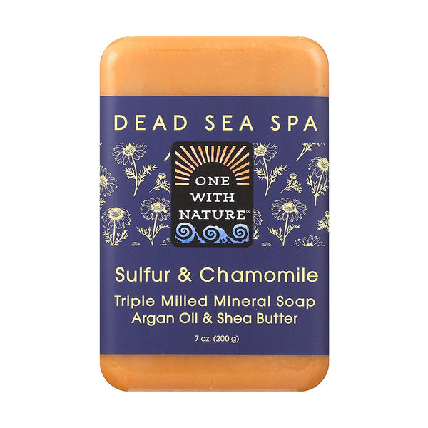 One with Nature Sulfur & Chamomile Bar Soap 200g