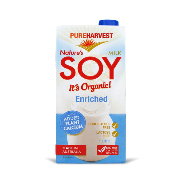 Pure Harvest Organic Enriched Soy Milk 1L