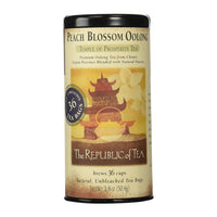 Republic Of Tea Peach Blossom Oolong 36 Tea Bags