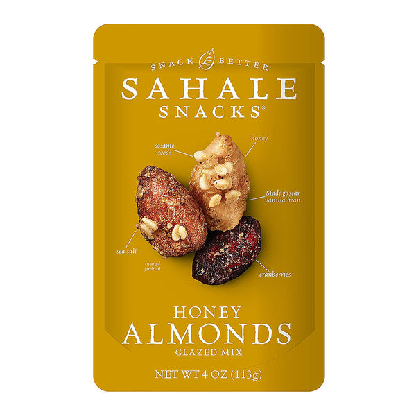 Sahale Honey Almonds Glazed Mix 113g