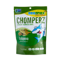 Seasnax Jalapeno Chomperz Seaweed Chips 30g