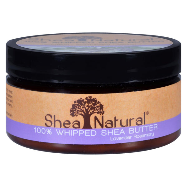 Shea Natural Lavender Rosemary 100% Whipped Shea Butter 170g