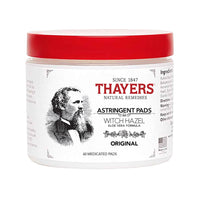 Thayers Original Witch Hazel Astringent Pads 60 pads