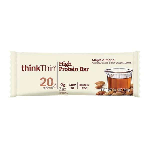 Think! Maple Almond High Protein Bar 60g