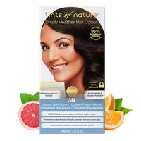 Tints of Nature 3N Natural Dark Brown Hair Color 130ml