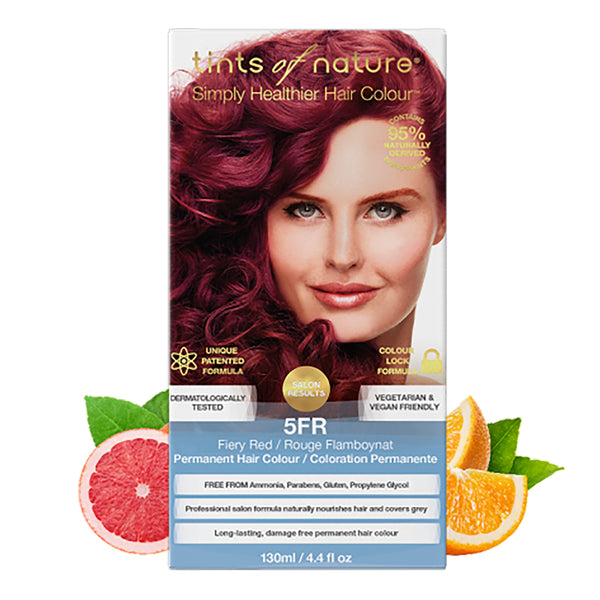Tints of Nature 5FR Fiery Red Hair Color 130ml
