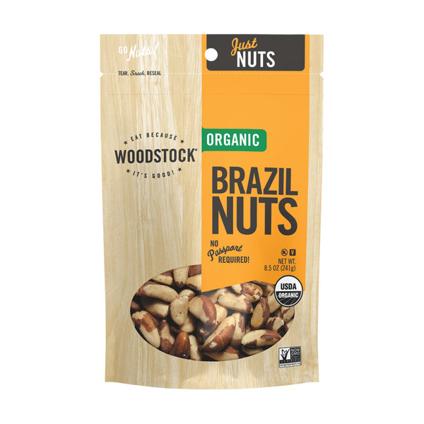 Woodstock Farms Organic Brazil Nuts 241g