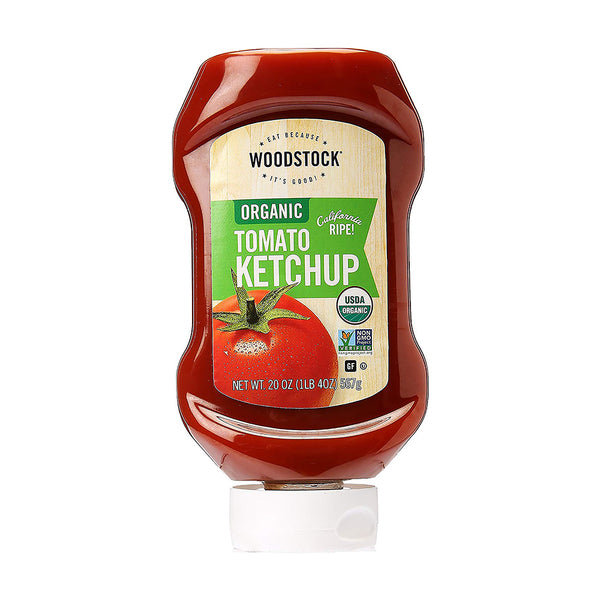 Woodstock Farms Organic Squeeze Tomato Ketchup 567g