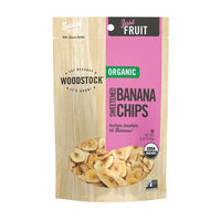 Woodstock Farms Organic Sweetened Banana Chips 170g