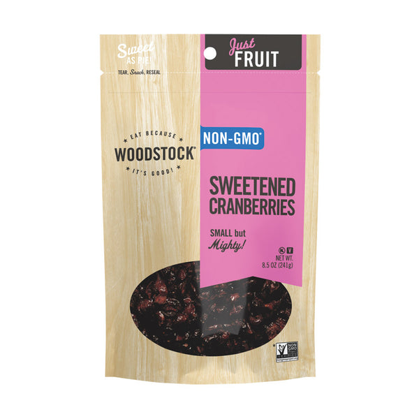Woodstock Farms Sweetened Cranberries 241g