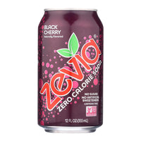 Zevia Black Cherry Soda 355ml