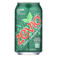 Zevia Ginger Ale Soda 355ml