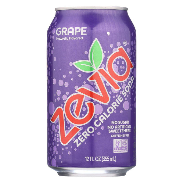 Zevia Grape Soda 355ml
