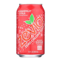 Zevia Grapefruit Citrus Soda 355ml