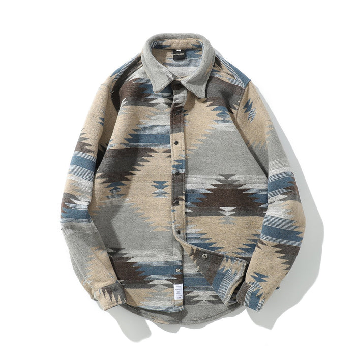 Japanese Street Retro Shirt Wild Simple Lapel Shirt