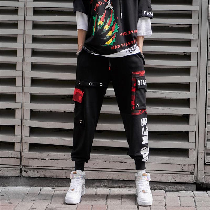 Japanese Hip-hop casual Pants