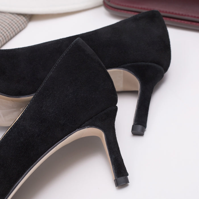 Glitter Heels -Black Sheep velvet