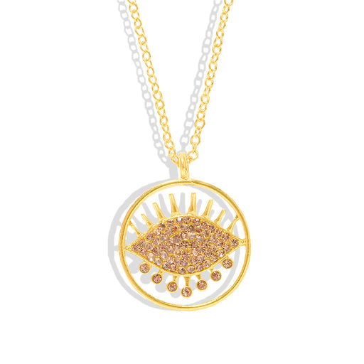 Sparkly Glitter Dazzling Creative diamond-encrusted necklace