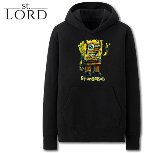 Grunge Spongebob punk hoodies