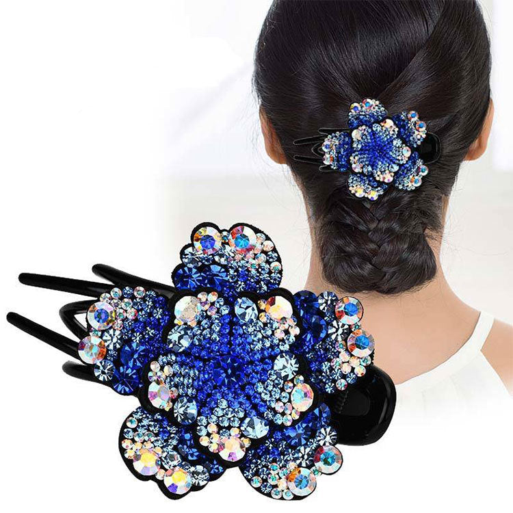 Glitter Sparkly Sequins Bling Diamond duck bill Hair Clip
