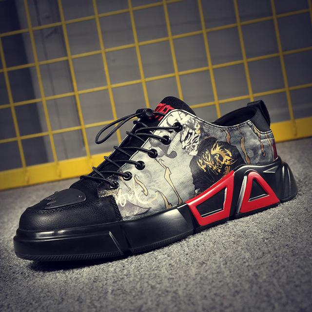 Japanese men's street cool hip hop anime sneakers