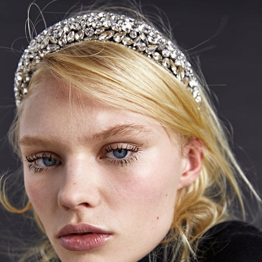 Sparkly Court hair accessories retro high pressure headband