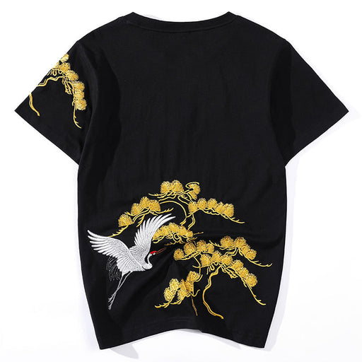 Japanese Sukajan Fancy Embroidered T-shirt