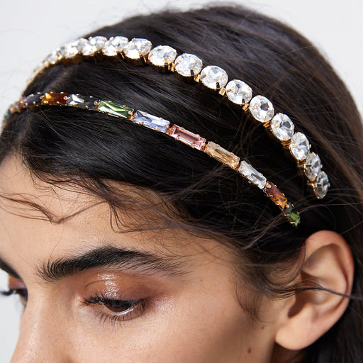 Sparkly Diamond - set fine - edged hair accessories elegant tide headband