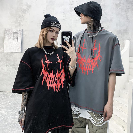 Grunge Original hip hop demon T-shirts