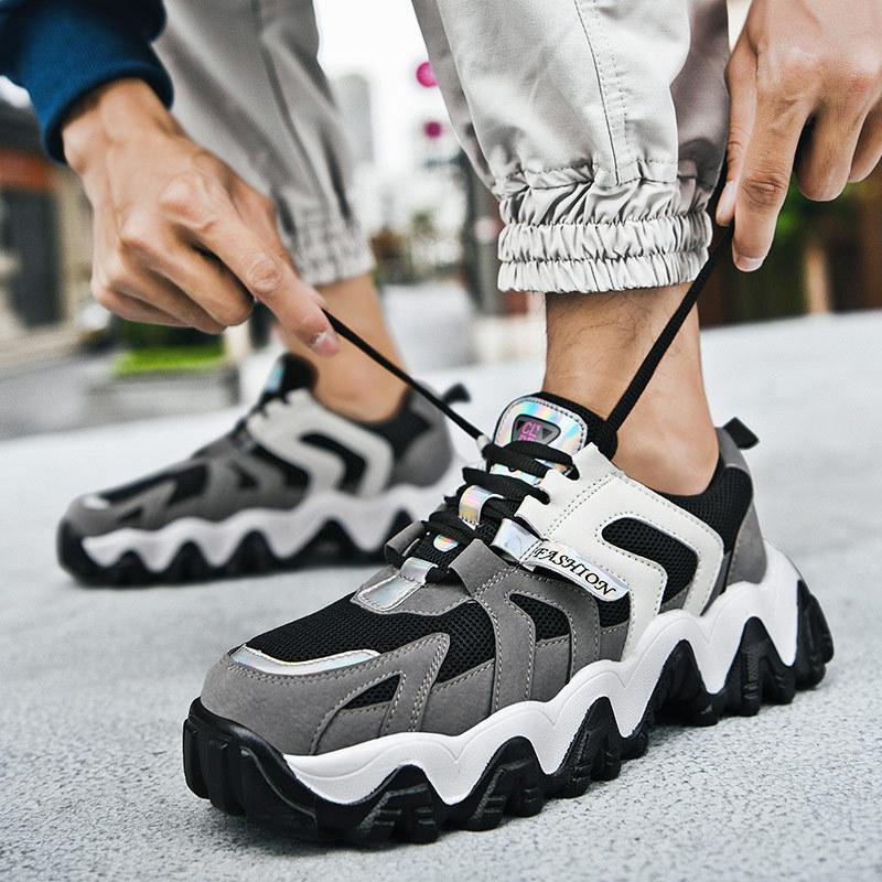 Japanese Trendy Men's Wild Daddy Sneakers