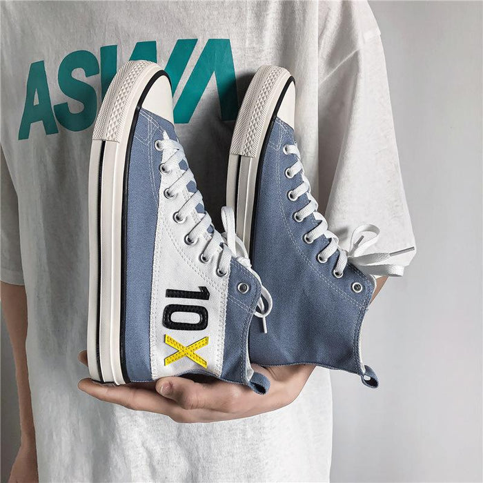 Japanese anime Converse high top canvas shoes