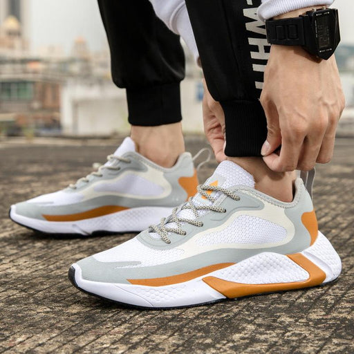 Japanese Trendy Men's Summer Reflective Sneakers