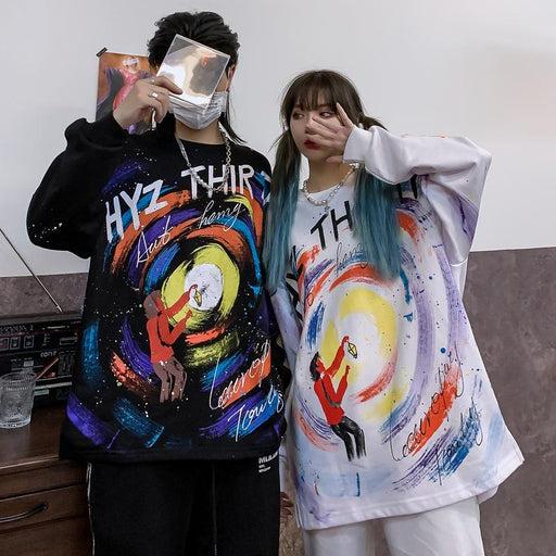 Japanese Hip-hop original printed Sweatshirt