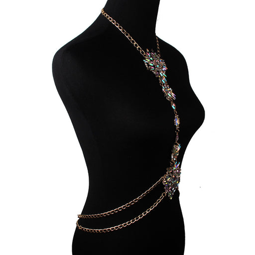 Glitter Sparkly Sequins Bling Fashion summer diamond-studded body chain