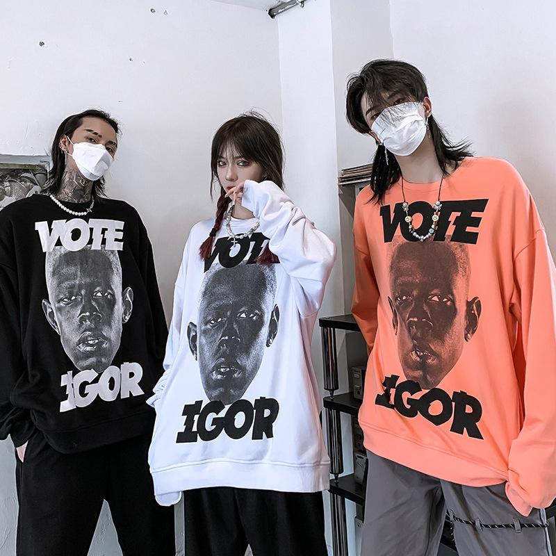 Japanese portrait Sweatshirt